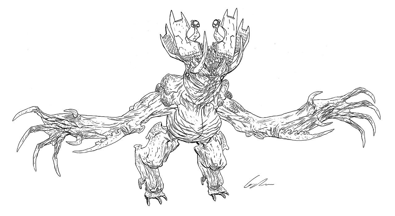 image kaiju concept art 09 jpg pacific rim wiki fandom