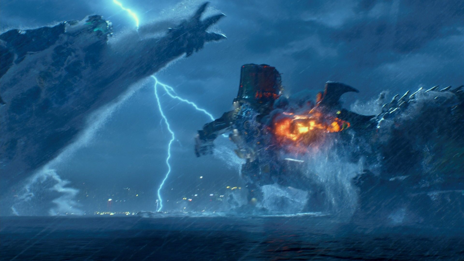 Image - Cherno Alpha attacked by Leatherback.png | Pacific ... Pacific Rim Cherno Alpha Destroyed