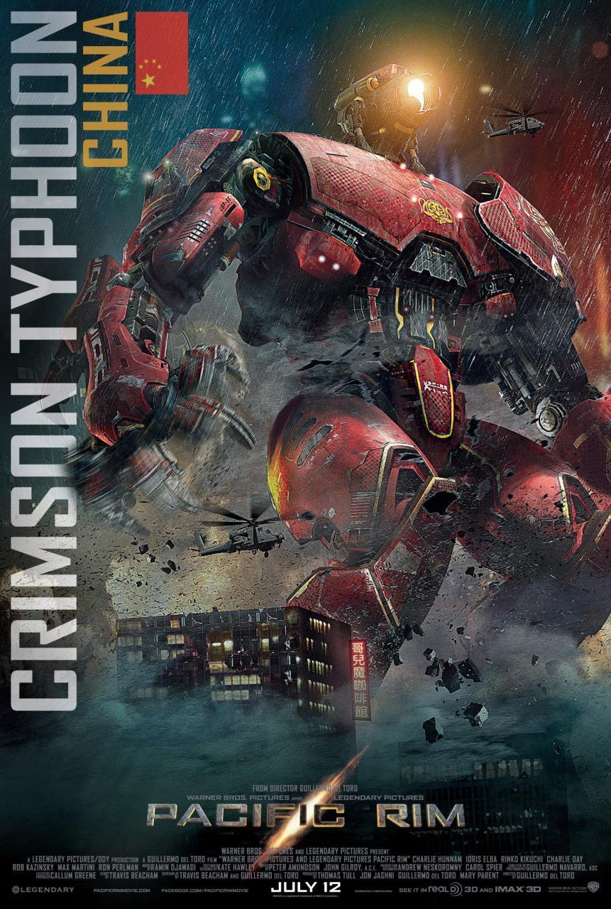 Crimson Typhoon Poster  Pacific Rim Crimson Typhoon