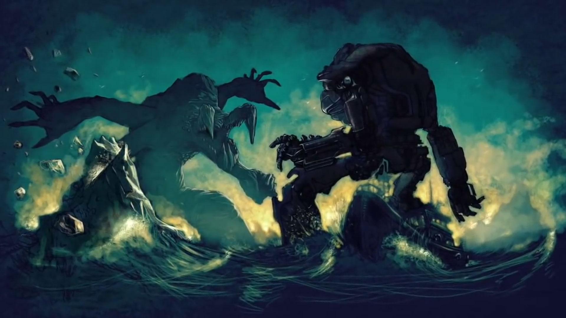 Kaiju vs jaeger