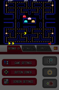 Namco Museum DS - Pac-Man (horizontal full, sharp) (DeSmuME 0.9.11)