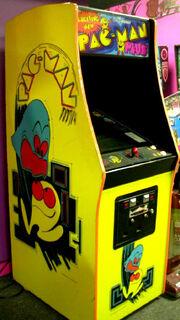 Pac-Man Plus Arcade Machine