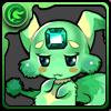 No.050  グリーンカーバンクル(綠色寶石獸)