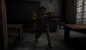 Evil Boy in Orphanage