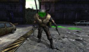 Green Lab Commando in Nuclear Plant