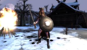 Valkyrie in Ragnarok