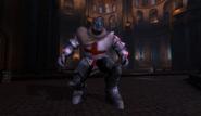 Crusader Black Demon in Oriental Castle