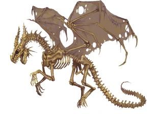 Undead Dragon A K A Bone Dragon R C C Palladium