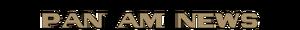 Header Pan Am News