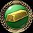 V badge GoldbrickersBadge