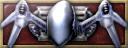 V badge StrikeforceSkyRaiderBadge