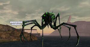 Jade Spider Cutscene
