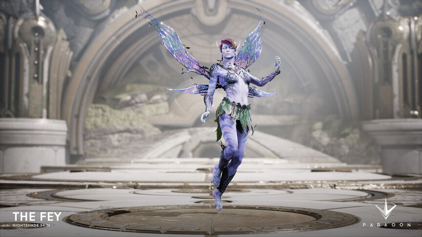 The Fey Nightshade skin