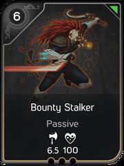 Bounty Stalker card
