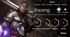 Kwang hover