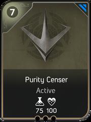 Purity Censer card