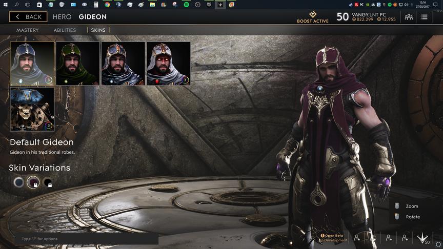 Gideon Purple Default skin