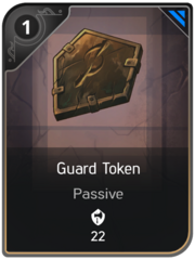 Guard Token card