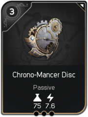 Chrono-Mancer Disc card