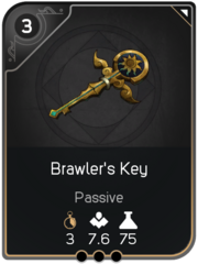 Brawler's Key card