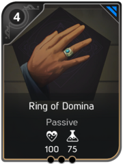 Ring of the Domina card