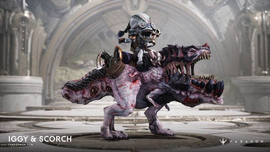 Iggy and Scorch Char-Demon skin