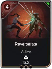 Reverberate card
