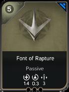 Font of Rapture