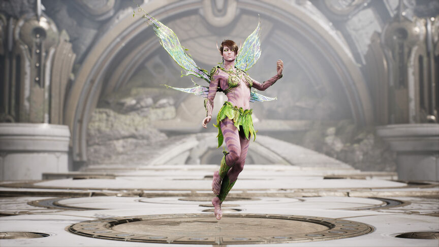 The Fey Default skin