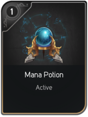 Mana Potion card