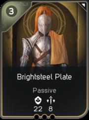 Brightsteel Plate card