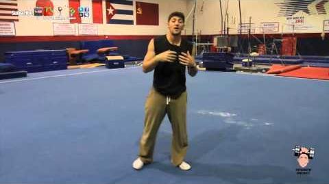 SIDE FLIP! How to perform sideways flip!
