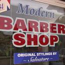 Modern barber shop cropped