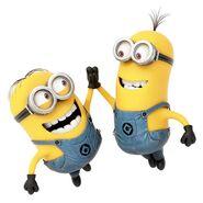 Minions high five