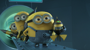 Minions get out way
