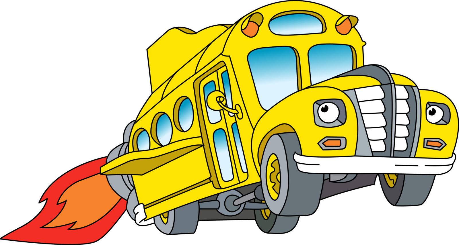 The Magic School Bus Character