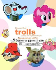 Trolls (Disney and Sega Animal Style) Poster