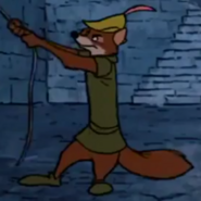 Robin hood pulling