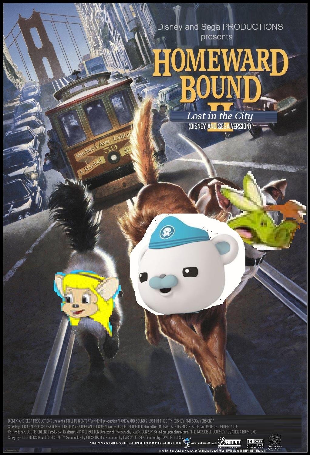 homeward bound 2 lost in the city  disney and sega version