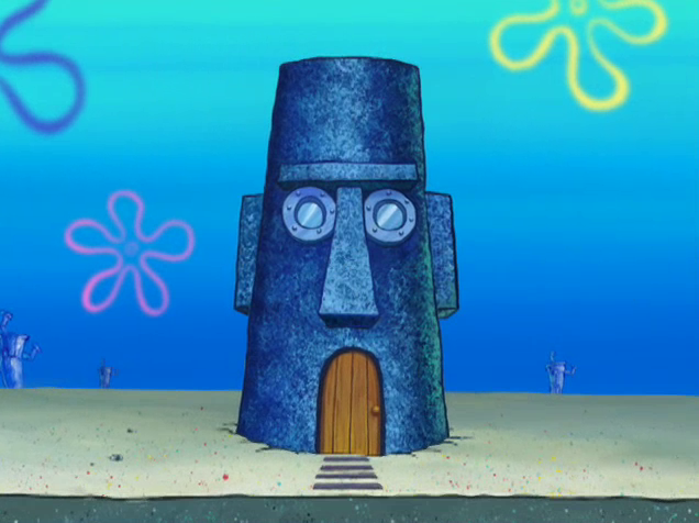 Squidward 39 s house the parody wiki fandom powered by wikia for What is a shouse house