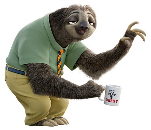sloth flash game
