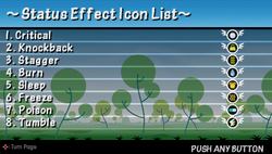 Tip status effect icon list