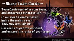 Share Team Cards
