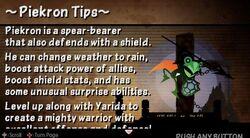 Piekron tips