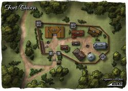 Fort Thorn map