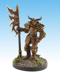 Order of the Pyre Hellknight mini