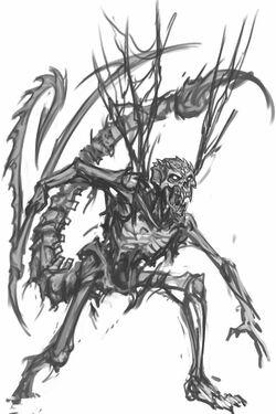 Bone devil sketch