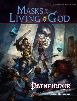 Masks of the Living God cover
