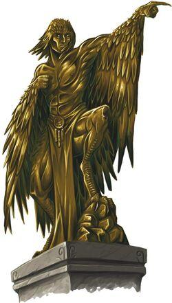 Talmandor statue
