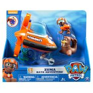 PAW Patrol Wally the Walrus Toy Zuma Bath Adventure (2)